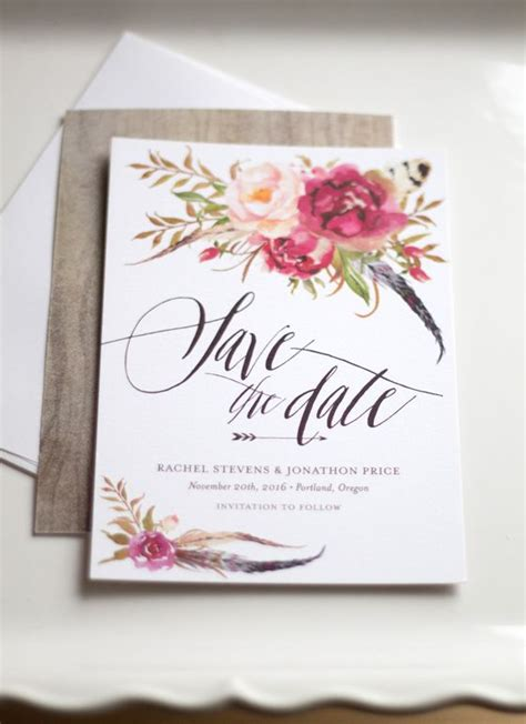 Save The Date Cards by New Floral Save The Dates We Wedding