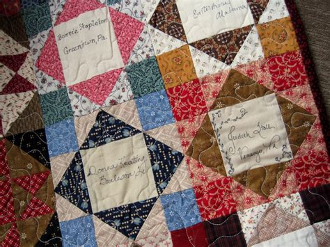 Friendship Quilt Patterns a sentimental quilter friendship quilts
