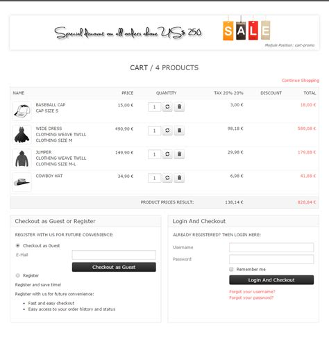 Virtuemart One Page Checkout Plugin Virtueplanet One Page Shopping Cart Template