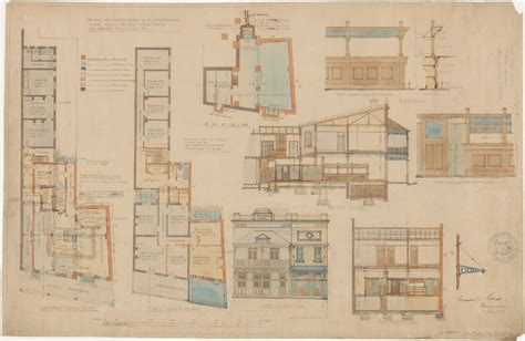 house designs and floor plans nsw hotel plans state archives nsw digital gallery
