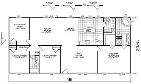 4 bedroom mobile home floor plans manufactured homes floor plans photos