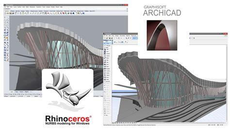 3d Home Design Software Australia by Archicad Rhinoceros Grasshopper Connection