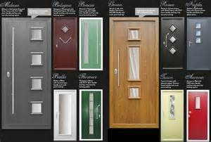 Doors which combine modern styling with high security locking systems