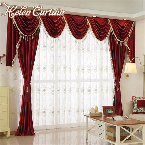 red curtains bedroom red bedroom curtains red bedroom aliexpress com buy helen curtain set luxury velvet red