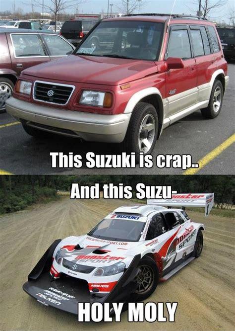 Suzuki Meme - suzuki ain t messing around with downforce