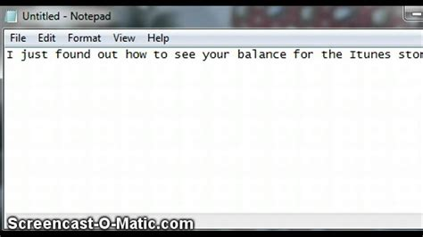 How To Remove Itunes Gift Card Balance - how you check balance on itunes youtube