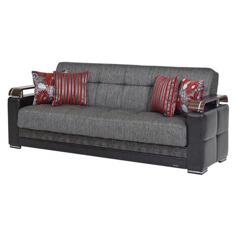 futon gray ekol gray futon sofa w storage el dorado furniture
