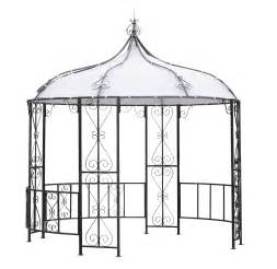 gartenpavillon metall rund pavillon metall gartenpavillon pavillion burma 300cm rund