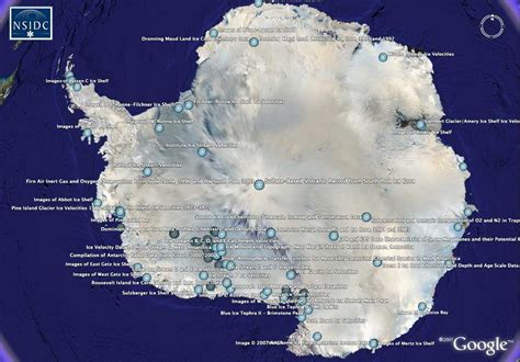 earth the biography ice facts nsidc data on google earth national snow and ice data center