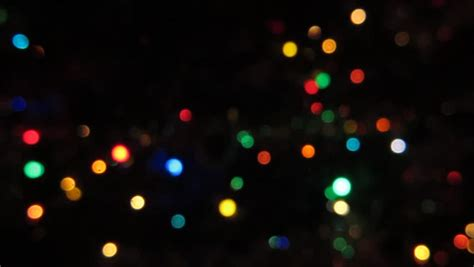 christmas lights fade blurred colorful lights on black royalty free