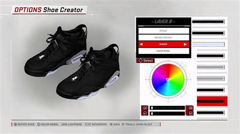 shoe creator nba 2k18 shoe creator air 6 low chrome