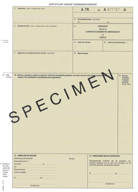 certificate of origin form template overzicht van documenten