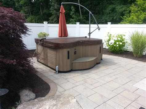 Patio Pavers Tub What Type Of Base Do You Need For A Tub Spa
