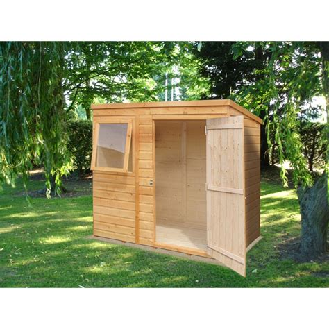 Shiplap Sheds by Shiplap Pent 6 X 4ft Shed Single Door Colchester Sheds