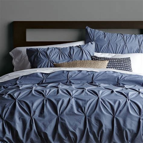 blue pintuck comforter 5 cute dorm room bedding styles cute dorm rooms style