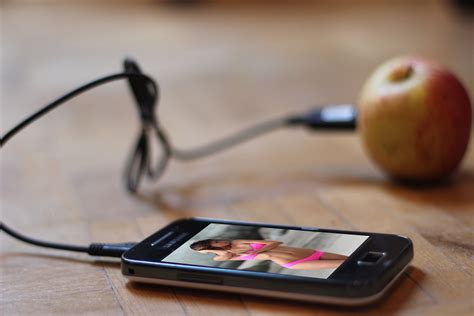 charge cell phone without charger charging phone with a fruit