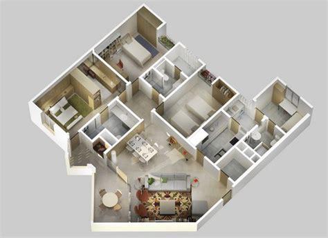 gambar 3d denah rumah minimalis lantai satu rumah bagus minimalis