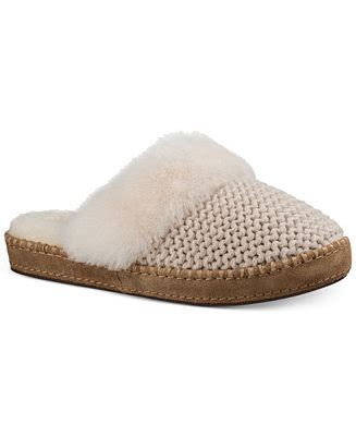 macys ugg slippers ugg 174 aira knit slippers slippers shoes macy s