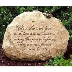 Memorial Rocks For Garden 1000 Images About Memorial Garden Gifts On Memorial Stones Memorial Gardens And
