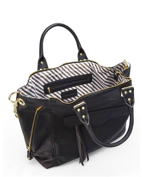 Burch Tote Vs Steve Madden Bag by Lyst Steve Madden Black B Stellar Convertible Tote In Black