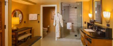 Master Bath With Shower Only one bedroom parlor suite aulani hawaii resort amp spa