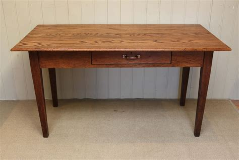 Farmhouse Kitchen Tables Uk Solid Oak Farmhouse Kitchen Table 271853 Sellingantiques Co Uk
