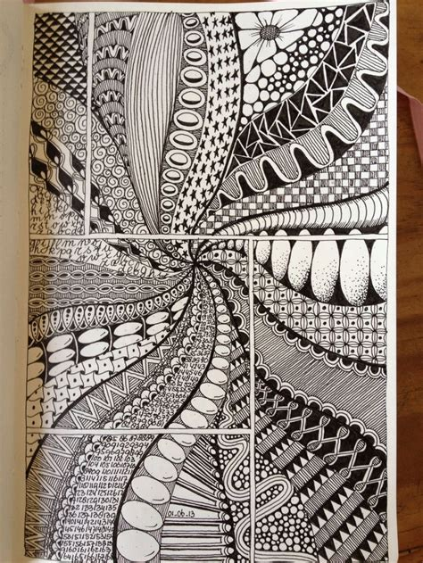 creative doodle ideas doodle comic book grid zentangle doodles