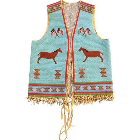 beaded vest american 17 best images about tipi on auction sioux