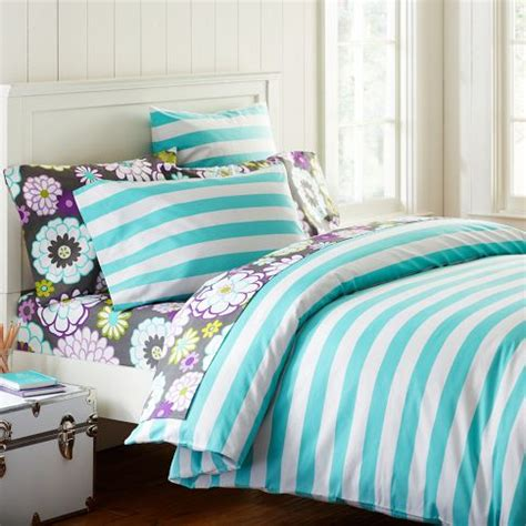 cottage duvet covers the cheerful cottage stripe duvet cover pillowcase set