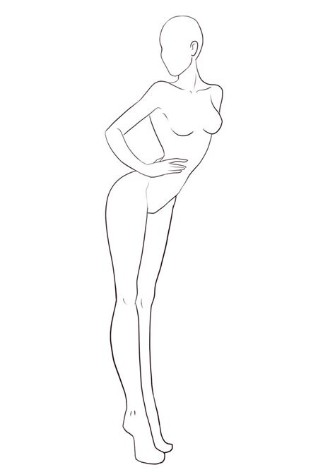 figure templates for fashion illustration 701 best fashion croquis poses images on