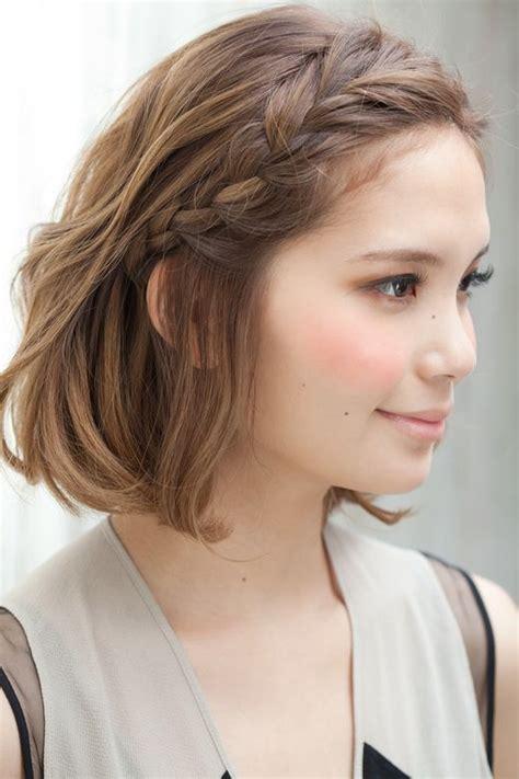 pinterest braids for short hair 12 pretty braided hairstyles for short hair pretty designs