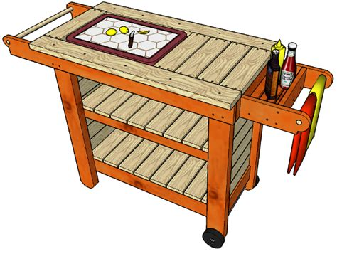 Woodworking Files Storage Grill Table Plans Free