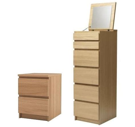 Matching Chest Of Drawers And Bedside Table Ikea Malm Chest Of Drawers Tallboy Matching
