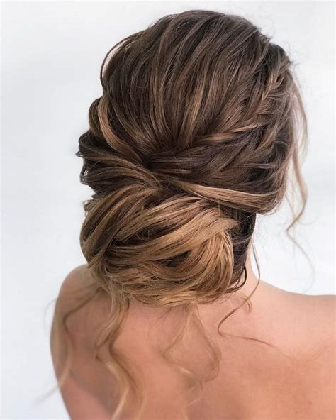 hairstyles blonde mesh chignon gorgeous updo wedding hairstyles to inspire you fabmood