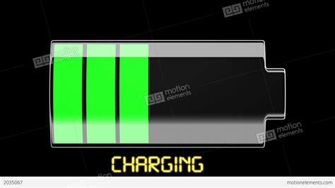 Baterai Charge battery charging and discharging with scale divisi stock