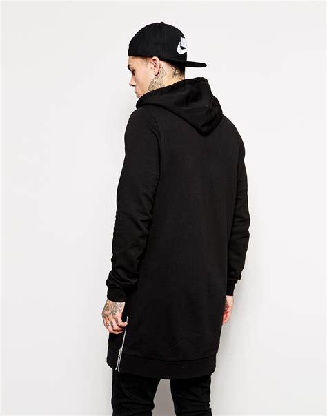 Hoodie Longkitty Black mens hoodie sweatshirt clothing