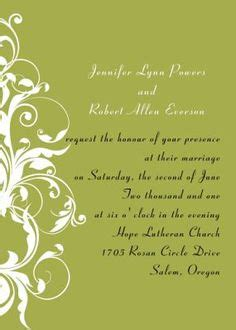 Wedding Announcement Wording For Couples by Wording For Wedding Invitation Wedding Invitation