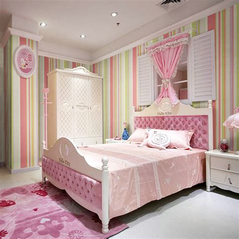 wallpaper for kids bedroom vertical stripes wallpaper for children bedroom wall paper