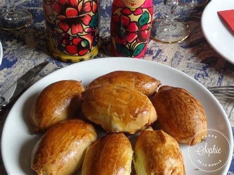 pirojki aux chignons russie la tendresse en cuisine