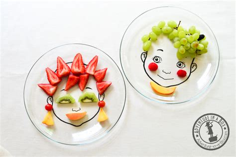 Dress Design Ideas diy food face plate for nutritious amp beautiful meals