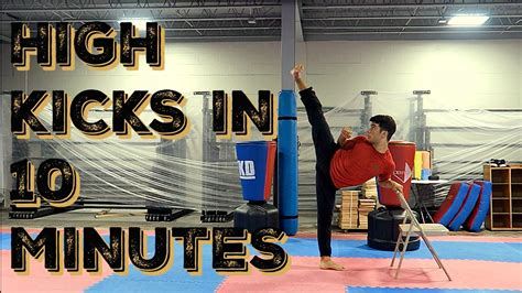 High Kick 5 high kicks strength workout how to get high kicks