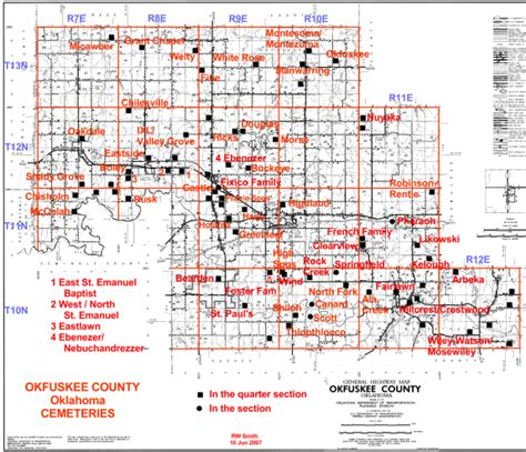 oklahoma section map okfuskee county oklahoma map pictures to pin on pinterest