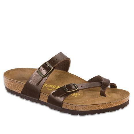 birkenstock comfort birkenstock quot mayari quot toe loop comfort sandal 7742842 hsn