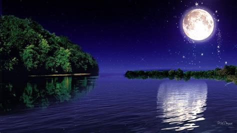 moon and light wallpapers moonlight wallpaper cave