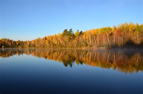 wi fall colors clam lake wisconsin fall colors