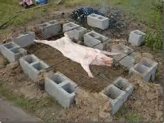 building pit pig roast 1000 images about diy cinder block smokers on pig roast cinder blocks and pigs