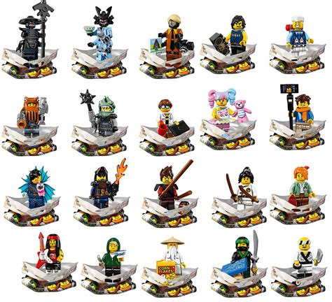 film de ninja go s 233 rie mini figurines lego ninjago le film 71019