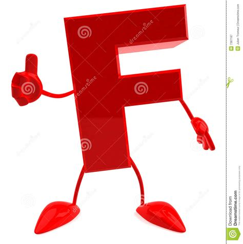 Letter F Royalty Free Stock Photography Image 7387187