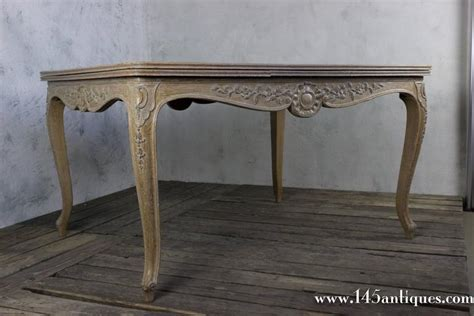 Elegant French Limed Oak Dining Table For Sale At 1stdibs Limed Oak Dining Table