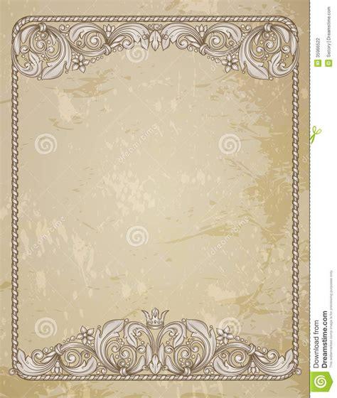 design frame for certificate 19 vintage border designs images free vintage border